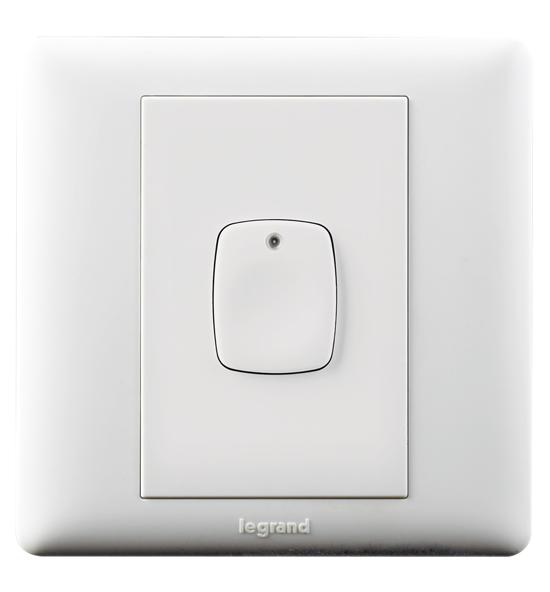 白色按钮式延时开关